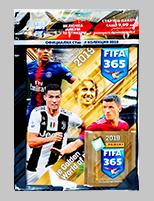 Panini FIFA 365 2019 - Стартов Пакет: Албум с 5 пакетчета стикери