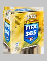 Panini FIFA 365 2019 - Кутия с 50 пакета: 250 бр. стикери