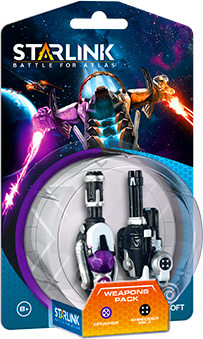 Starlink: Battle for Atlas Weapon Pack Crusher & Shredder