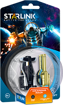 Starlink: Battle for Atlas Weapon Pack Iron Fist & Freeze Ray