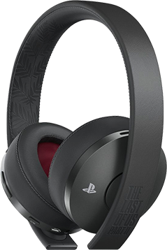 Гейминг слушалки Sony - Gold Wireless Headset, The Last of Us Part 2 Limited Edition, 7.1,