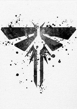 Метален постер Displate - Last of Us - Firefly