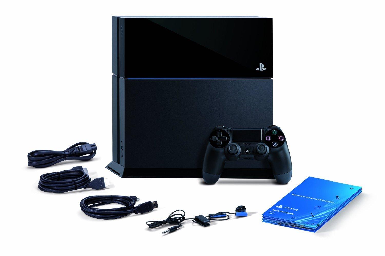 PlayStation 4 съдържание на пакета